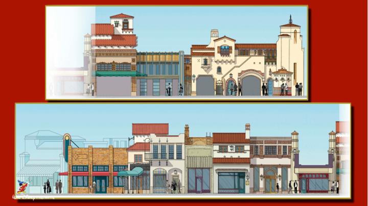 Buena Vista Street Concept Art