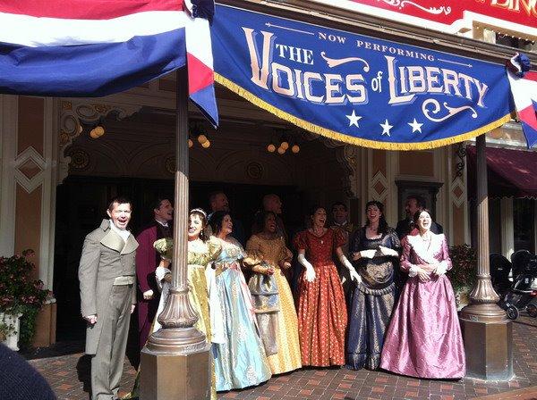 Voices Of Liberty Disneyland 2