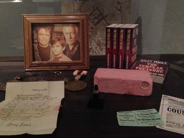 D23 Treasures Of The Walt Disney Archives Reagan Library Overview National Treasure 2 Props