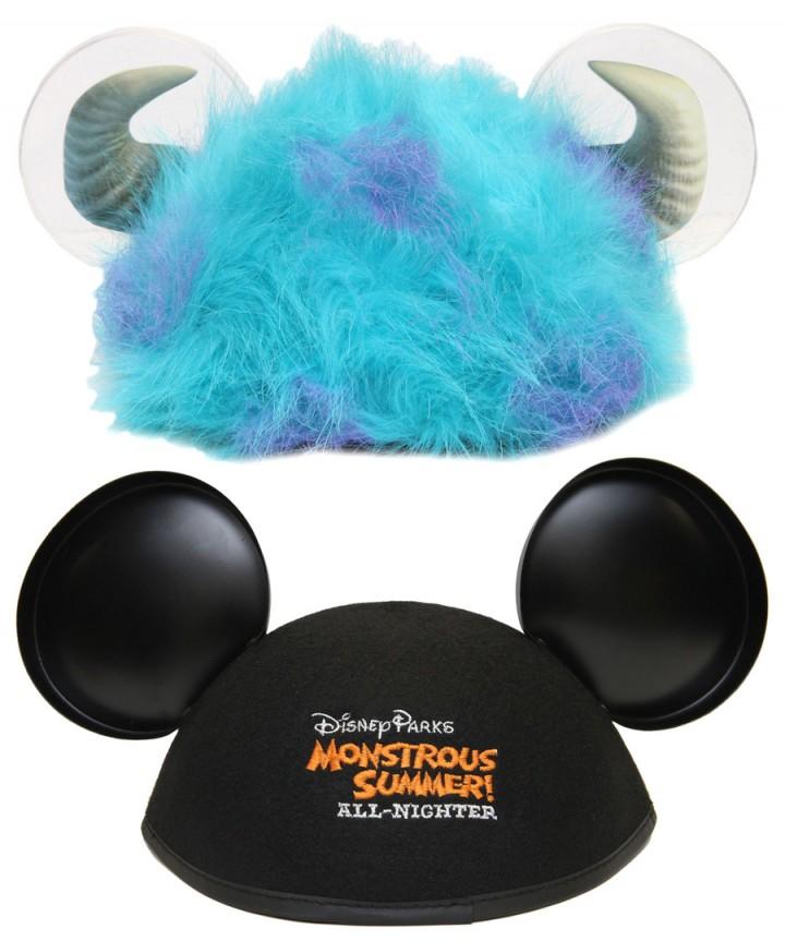 Monstrous Summer All Nighter Sulley Ear Hat Logo Ear Hat