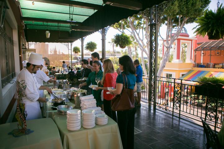 Balcony Ralph Brennans Jazz Kitchen Downtown Disney California Disneyland Resort