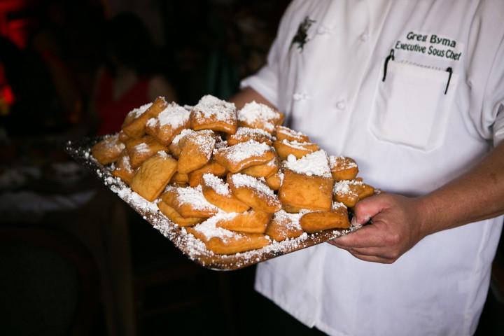 Beignets With Powdered Sugar Ralph Brennans Jazz Kitchen Downtown Disney California Disneyland Resort