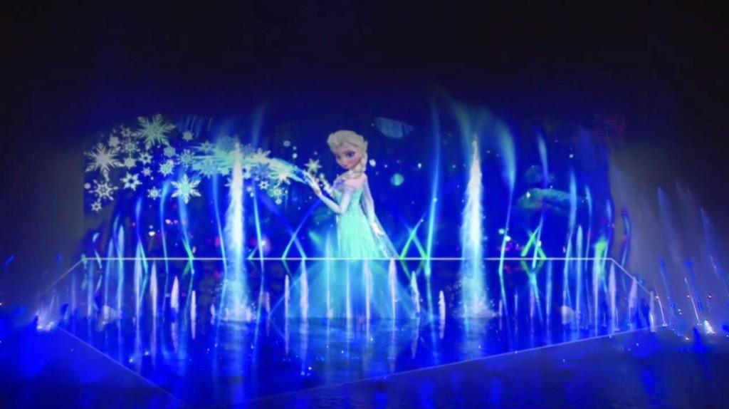 Disney Animation Frozen World Of Color Winter Dreams Concept Art