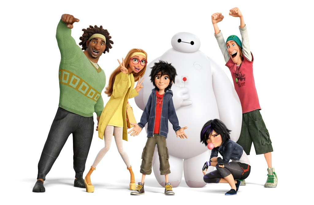 Disney Big Hero 6 Character Group Picture