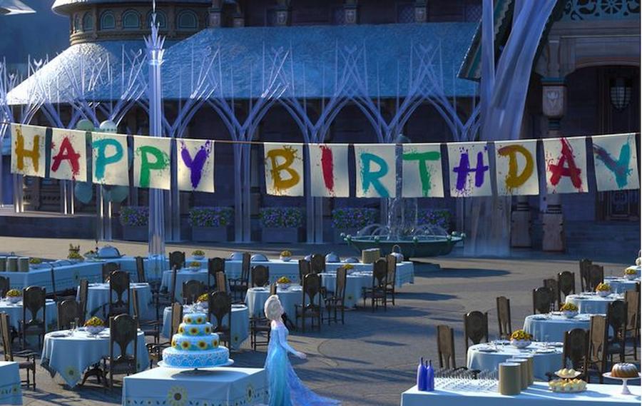 Disney Frozen Fever Animated Short Happy Birthday