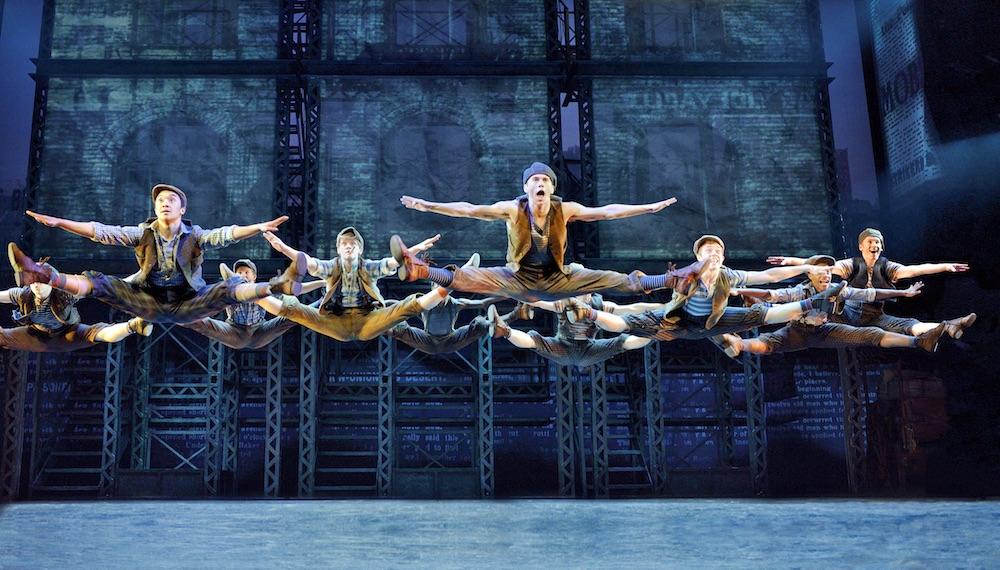 #S5 Newsies jump. ©Disney.  Photo by Deen van Meer