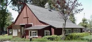 Walt's barn/workshop. via Walt's Hollywood