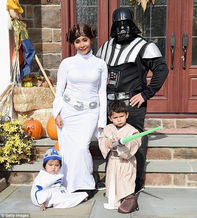 Nicole-Polizzi-Snooki-Star-Wars-Halloween-Costume