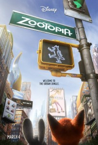 Walt Disney Animation Studios Zootopia Poster Disneyexaminer Things To Look Forward To 2016