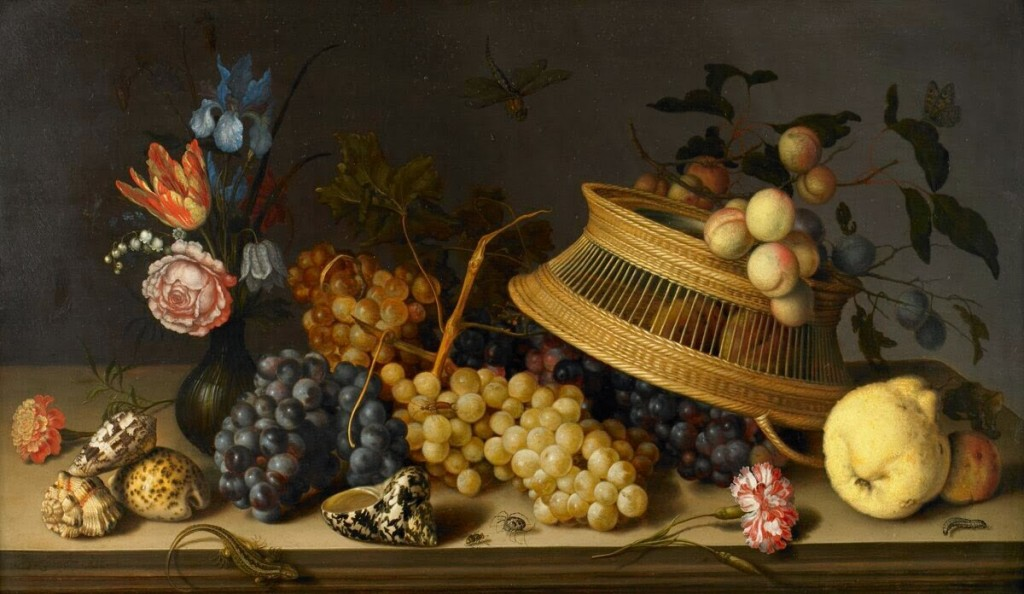 Still_Life_of_Flowers,_Fruit,_Shells,_and_Insects_by_Balthasar_van_der_Ast-BMA