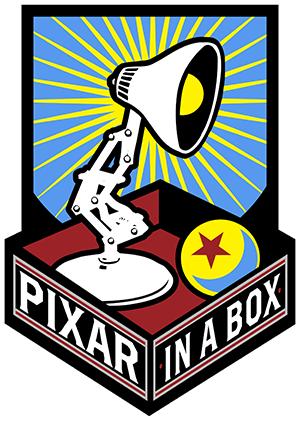 Pixar in a Box Logo